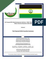 The Proposed RVDA Volume I - The Proposed RVDA Executive Summary