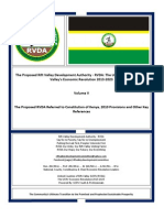 The Proposed RVDA Volume V