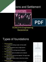 Foundation & Settlement