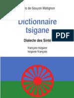 Extrait Dictionnaire Tsigane