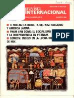 Revista Internacional, Agosto de 1985
