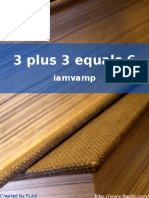 Iamvamp - 3 Plus 3 Equals 6