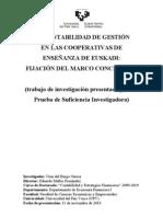 La Contabilidad de Gestión en las cooperativas de enseñanza de Euskadi