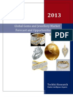 Global Gems Global Jewellery Market to Surpass USD 272 Billion Revenues By 2018 Says TechSci Researchand Jewellery Market Forecast and Opportunities 2018
