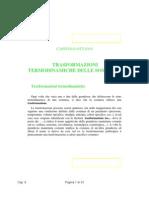 Trasformazioni Termodinamiche Delle Sostanze.