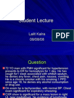 Lung Carcinoma_Student Lecture