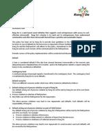 Rang De Default Policy version 1.0