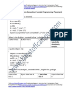 Internet Systems Consortium Sample Programming Placement Paper Level1