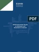 DIVSI Entscheider-Studie zu Vertrauen und Sicherheit im Internet