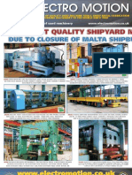 Shipyard Machinery Advert