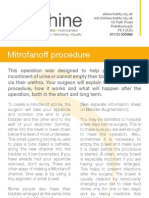 Mitrofanoff Procedure