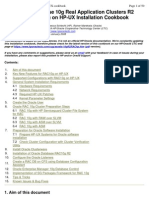 Oracle RAC 10g R2 On HP-UX