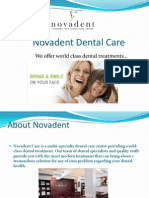 Dental Implants Treatment in Kerala, India - Novadent Care