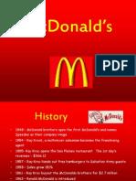 McDonalds Competitive Analysis Presentation 1