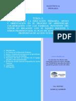 Tema 3 Ed. Primaria