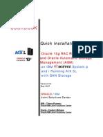 COOKBOOK Oracle 10gRAC R2 - ASM - IBM AIX5L - SAN Storage Installation Guide