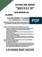 Klinik Air Sehat - Biotech