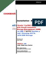 COOKBOOK Oracle 11gRAC R1 - ASM - AIX5L - SAN Storage Installation Guide