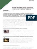 Geneva Conventions 1949 & Protocols - ICRC