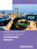 Leveraging Density Urban Patterns for a Green Economy