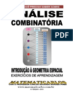 Matematicarlos Analise Combinatoria - Exercicios de Aprendizagem