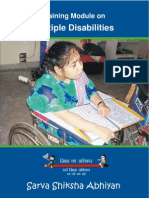 Training Book on Multiple Disability