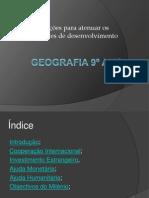 Geografia 9º ano