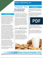 Gluten-Casein Peptides Test