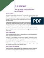 Intonation in Context-resumen