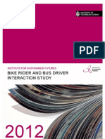 Bike and Bus Interactions