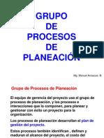 PROCESOS DE PLANIFICACIÓN DEL PROYECTO