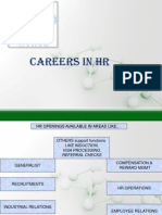 Careers for MBA HR