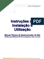 Manual Tecnico ItauShopline