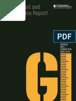 Government defence anti-corruption index 2013