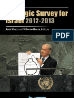 Strategic survey for Israel 2012-2013