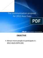 [ASUS Expo 2012] Communication Proposal - Nguyen Thi Ka Ly