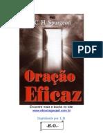 Oracao Eficaz Charles Haddon Spurgeon