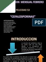 PPT CEFALOSPORINA F-53.ppt