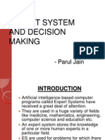 expert system and decision making