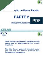 Ipem-PR - Classificação pesos padrão 2