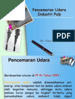 Pencemaran Udara Industri Pulp