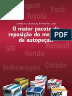 AFFINIA Folheto Produtos Automec 2007