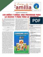 EL AMIGO DE LA FAMILIA - DOMINGO 3 MARZO 2013