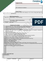 AO 1001 Well Service Programme Method