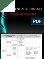 Técnicas  analiticas de seguridad ANSI Z 16.1 Y 16.2