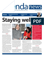 Agenda News issue 16, Spring 2013