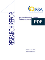 IBSA Telecommunications Industry Final Release Research Report 17.12.09 v1