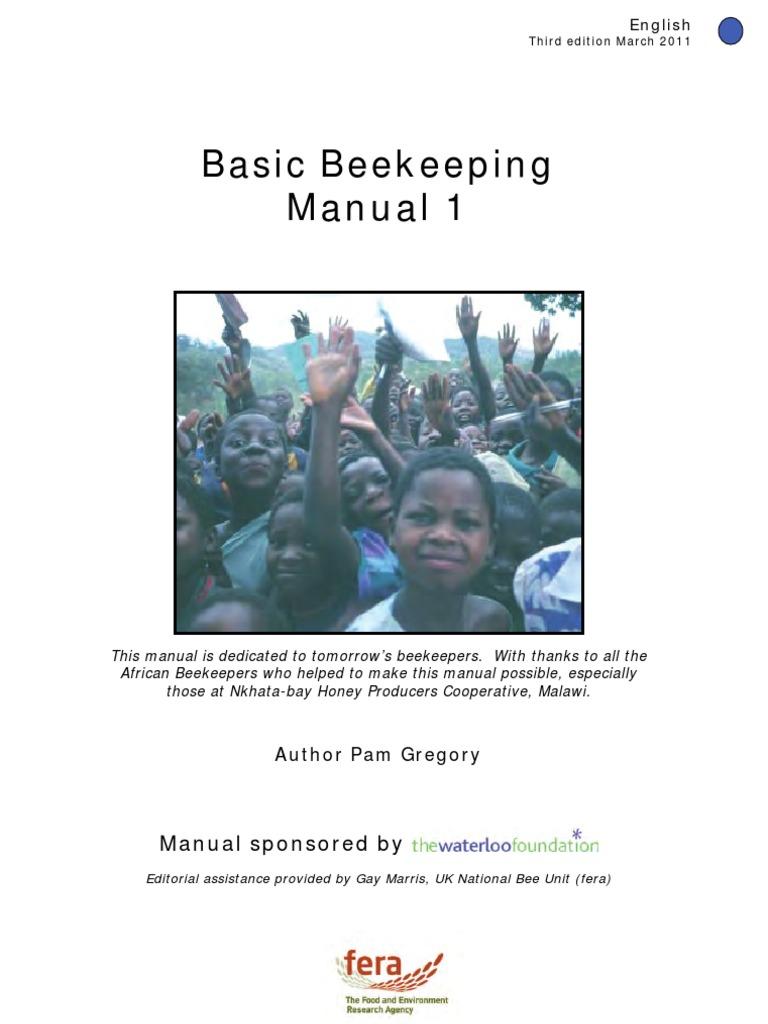 Basic beekeeping manual chichewa [pdf document].