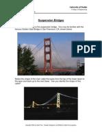 Suspension Bridge - Lecture and Problems HS
