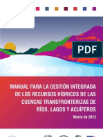 Manual Aguas Transfronterizas 2012-ESP